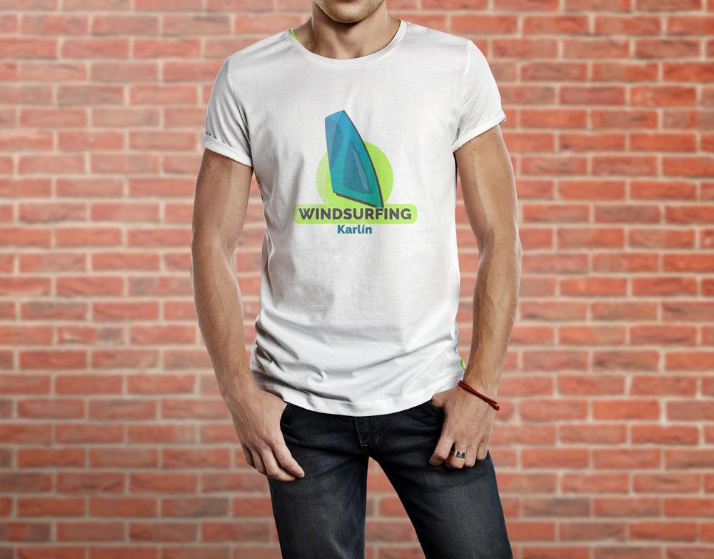 Windsurfing_logo_tričko_AMcreation
