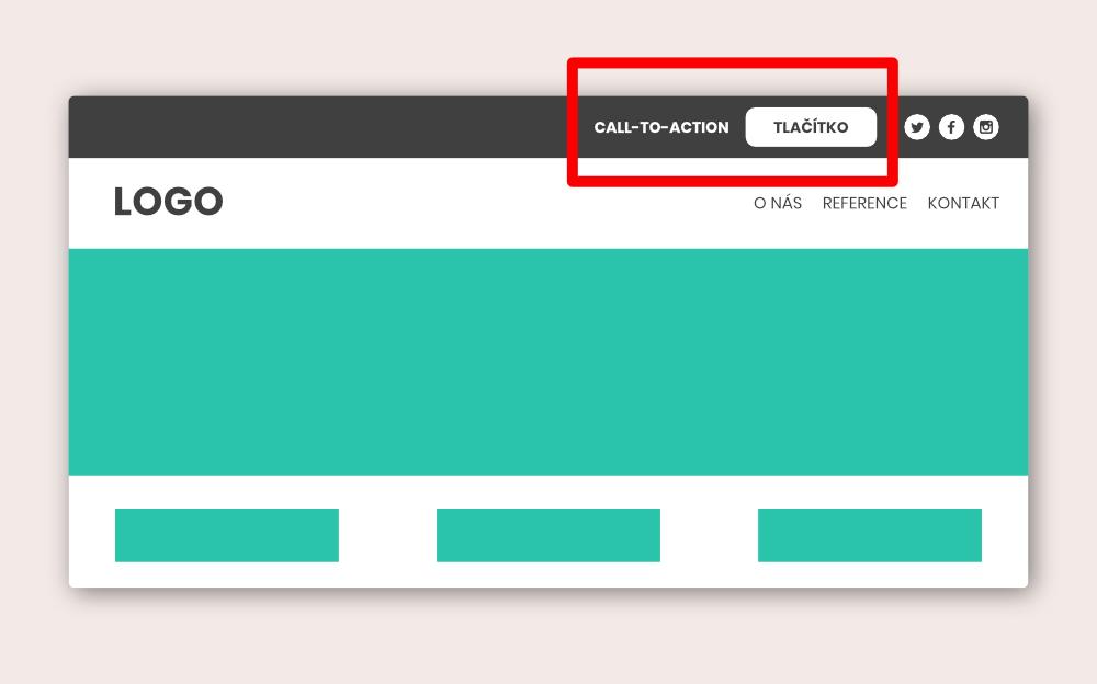 Jak vložit text a tlačítko do sekundárního menu | Divi