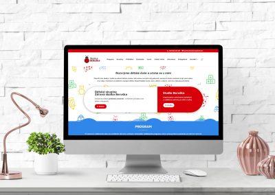 Webové stránky pro školku