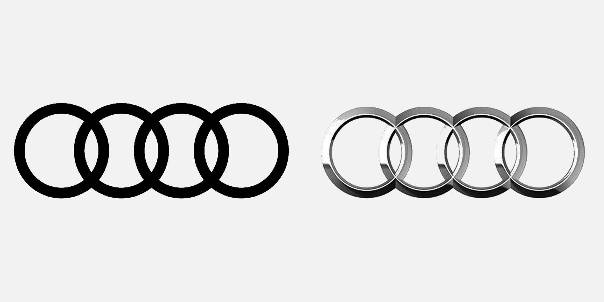 audi flat logo