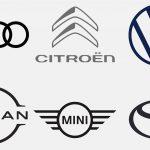 Loga automobilek_flat design