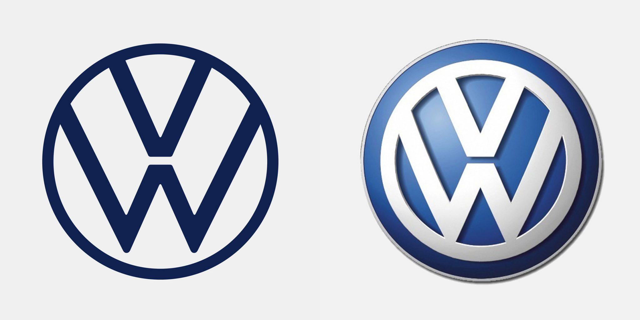 Volkswagen flat logo
